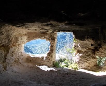 Abitazione bizantina a Pantalica